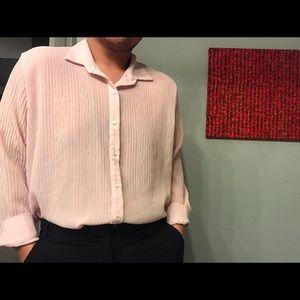 Button down pink shirt